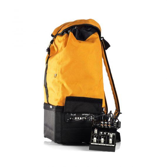 Partybag Mini peut aussi recharger un mixer