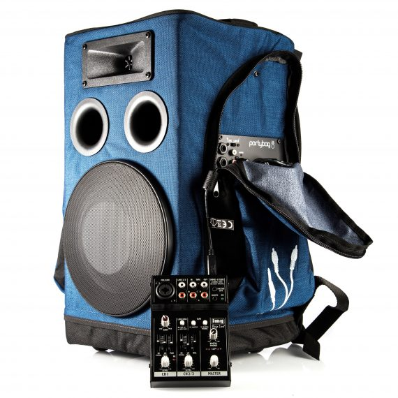 Partybag 6 Mixer auxiliaire externe