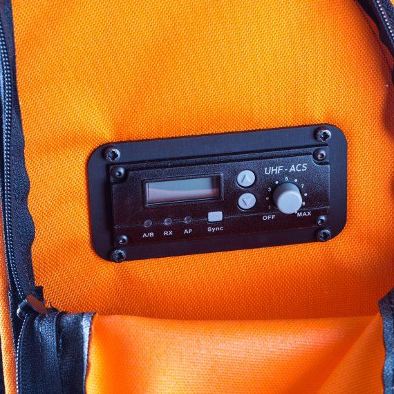 Partybag 6 equippée avec UHF Radio Récepteur