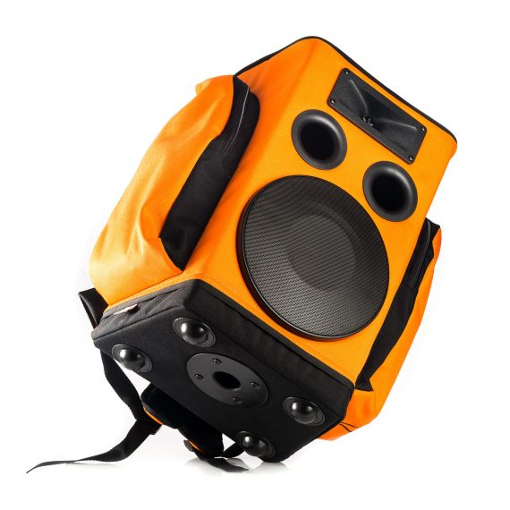 enceinte portable sac a dos Partybag 6 orange