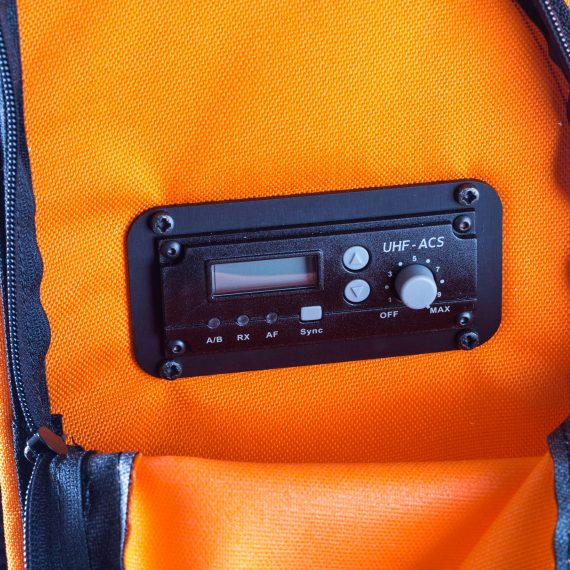 enceinte portable sac a dos Partybag 6 equippée avec UHF Radio Récepteur