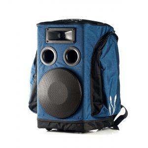 enceinte portable sac a dos partybag 6 bleu