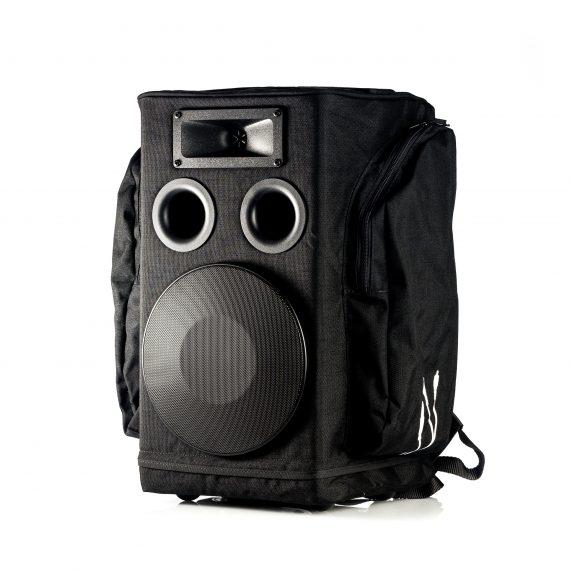 enceinte portable sac a dos partybag 6 noir